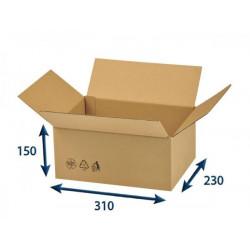 Kartonová krabice 310 x 230 x 150