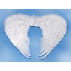 Péřová andělská křídla 80x55 cm