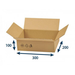 Kartonová krabice 3VVL 300 x 200 x 100