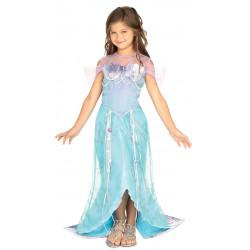 Dětský kostým Mořská panna modrá