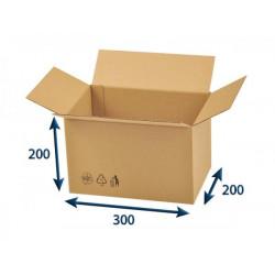 Kartonová krabice 3VVL 300 x 200 x 200