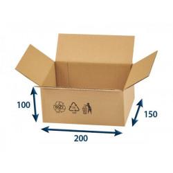 Kartonová krabice 3VVL 200 x 150 x 100