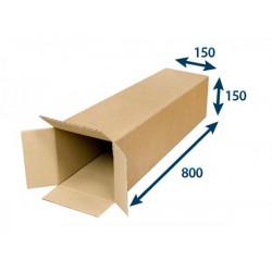 Kartonová krabice tubus 3VVL 150 x 150 x 800