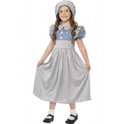 Dětský kostým Viktoriánská školačka