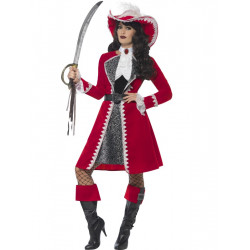 Kostým Pirátská kapitánka