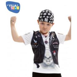 Dětské tričko 3D Hell boy