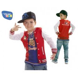 Dětské tričko 3D Rapper boy