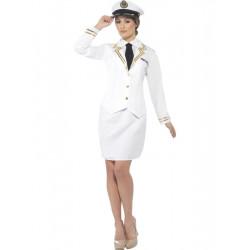 Kostým Námořní důstojnice
