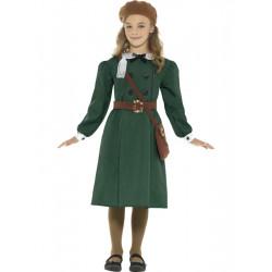 Dětský kostým Evakuovaná dívka