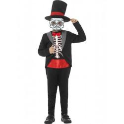 Dětský kostým Kostlivec Den mrtvých