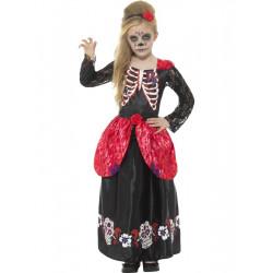 Dětský kostým Den mrtvých