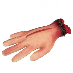Utržená ruka v zápěstí