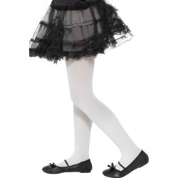 Dětské punčocháče bílé