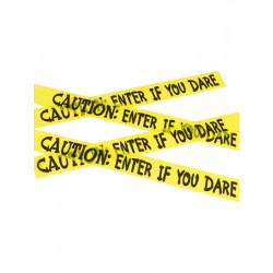 Páska Caution: enter if you dare tape