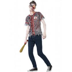 Kostým Zombie basebolový hráč
