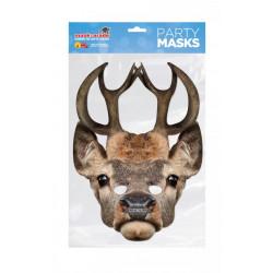 Papírová maska Jelen