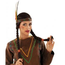 Paruka s čelenkou Indiánka