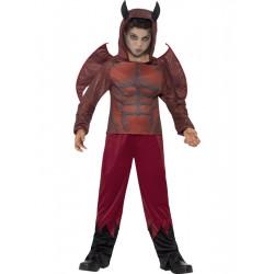 Dětský kostým Čert deluxe