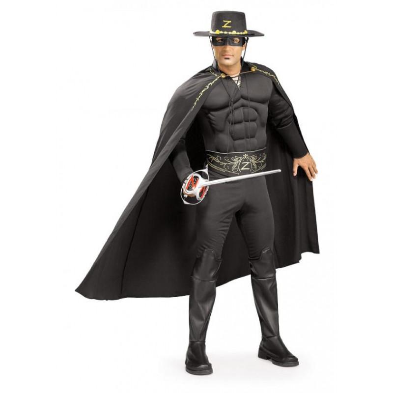 Kostým Zorro svalovec