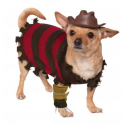 Kostým pro pejska Freddy Kruger