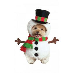 Kostým pro pejska Sněhulák