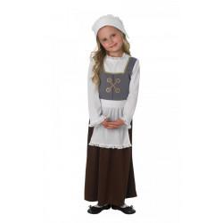 Dětský kostým Tudorovská dívka