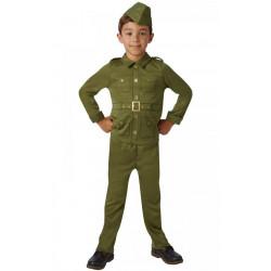 Dětský kostým Voják z druhé světové války