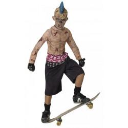 Dětský kostým Zombie pankáč skejťák