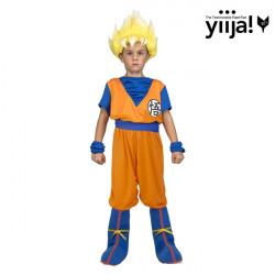 Dětský kostým Saiyan Goku Dragon Ball
