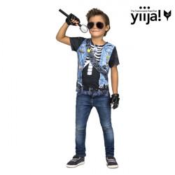 Dětské tričko 3D Rocker boy