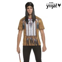 Tričko 3D Indián