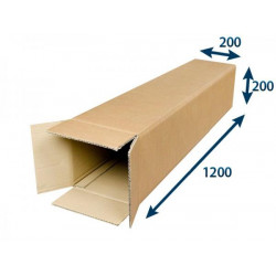 Kartonová krabice tubus 5VVL 200 x 200 x 1200