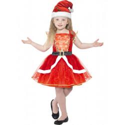 Dětský kostým Santa girl