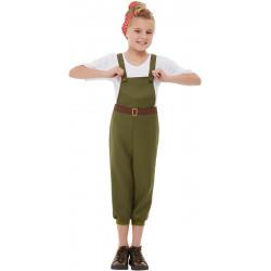 Dětský kostým Dívka z války