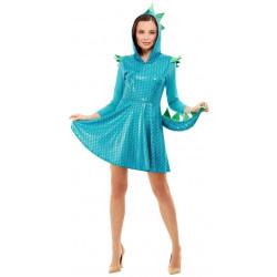Kostým Drak modrý