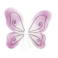 Motýlí křídla růžová