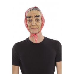 Maska Babička s šátkem