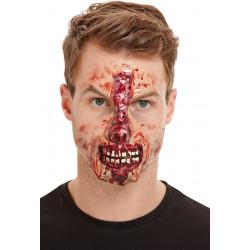 Zranění Skalpovaný nos a pusa