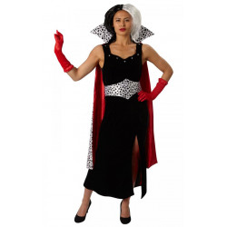 Kostým Cruela de Vil 101 Dalmatinů