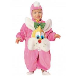 Dětský kostým Zajíček růžový