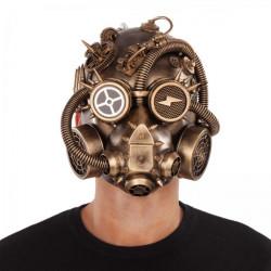 Maska Steampunk celohlavová