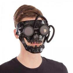 Maska Steampunk černá