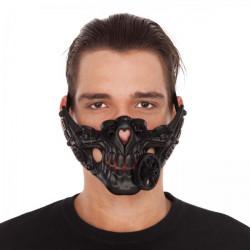 Maska Steampunk na pusu