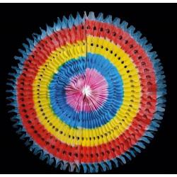 Závěsná party ozdoba růžice 68 cm