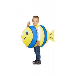 Dětský kostým Ryba modrožlutá
