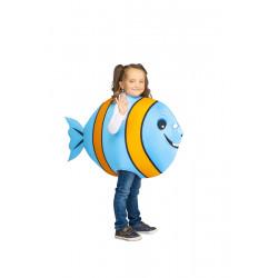 Dětský kostým Ryba modrooranžová