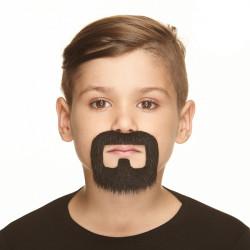 Dětské vousy černé