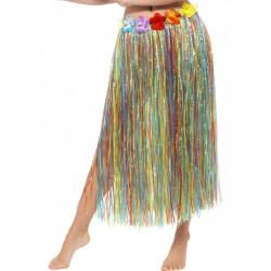 Havajská sukně multi 79 cm s květinami