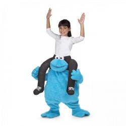 Dětský kostým Cookie Monster únosce