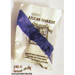 Cukr s překvapením modrý drcený korek